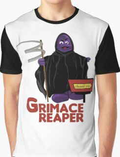 Grimace Reaper Graphic T-Shirt