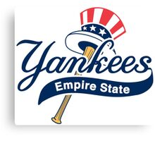 New York Yankees Empire State Canvas Print