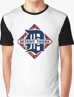 Detroit Tigers Basic Logo Graphic T-Shirt