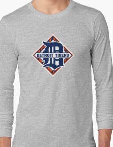 Detroit Tigers Basic Logo Long Sleeve T-Shirt