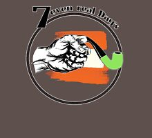 7rD ~ 7even real Day's, No2 Black Unisex T-Shirt