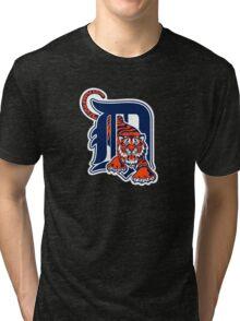 Detroit Tigers Basic Mascot Tri-blend T-Shirt