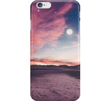 Moon gazing iPhone Case/Skin