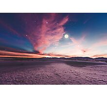 Moon gazing Photographic Print