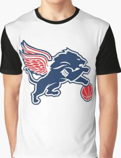 Detroit Tigers Collabse Graphic T-Shirt