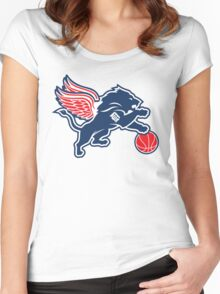 Detroit Tigers Collabse Women's Fitted Scoop T-Shirt