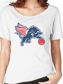 Detroit Tigers Collabse Women's Relaxed Fit T-Shirt