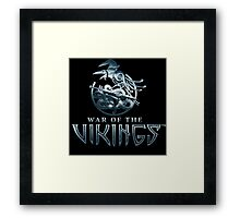 the vikings Framed Print