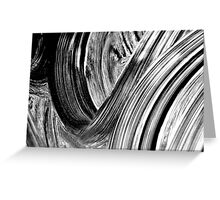 Swirl Greeting Card