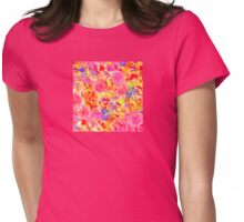 Daisies For Mum Womens Fitted T-Shirt