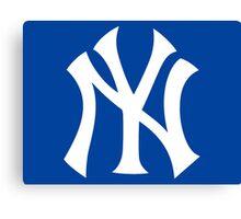 New York Yankees Nice Old Logo Canvas Print
