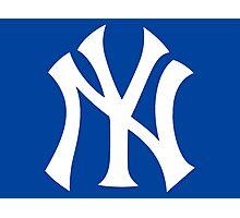 New York Yankees Nice Old Logo Photographic Print