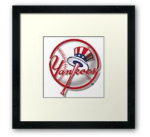 New York Yankees Nice Artwork Framed Print