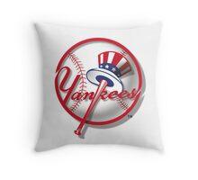 New York Yankees Nice Artwork Throw Pillow