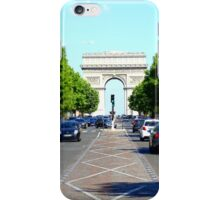 Champs Elysees Tiltshift iPhone Case/Skin