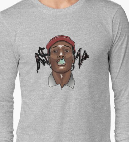 A$AP ROCKY - SMOKE Long Sleeve T-Shirt