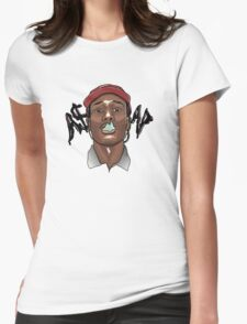 A$AP ROCKY - SMOKE Womens Fitted T-Shirt