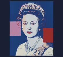 Queen's portrait Baby Tee