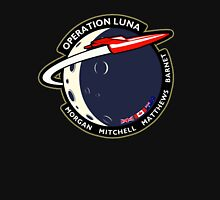 Journey Into Space - Operation Luna Mission Patch Unisex T-Shirt