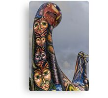 Faces Of Angel Canvas Print
