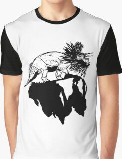 Bottle Brush Dino Graphic T-Shirt