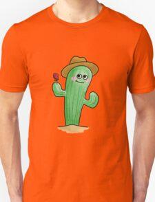 Blushing Cactus Unisex T-Shirt