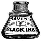 Raven's Black Ink by Kawka