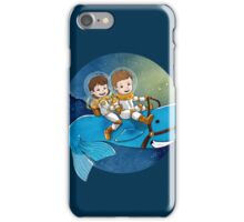 Baby Astronauts & A Whale iPhone Case/Skin