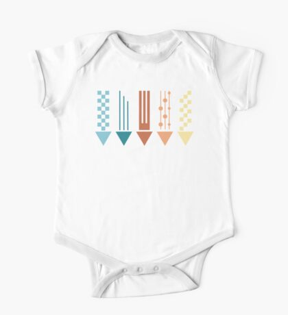 Decorative arrows, illustration One Piece - Short Sleeve