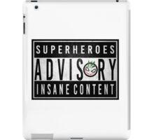 Advisory iPad Case/Skin