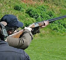 Sporting Clay Shooting Coach by dawngrant