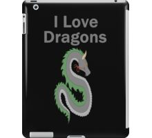 I Love Dragons - Dragon Design - (Designs4You) - Chinese Dragon iPad Case/Skin