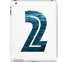 Number 2 - Ocean iPad Case/Skin