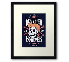 Deliverer Forever Framed Print