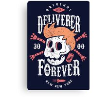 Deliverer Forever Canvas Print