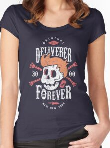 Deliverer Forever Women's Fitted Scoop T-Shirt