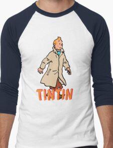 tintin adventures Men's Baseball ¾ T-Shirt