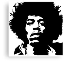 Jimmy Hendrix Canvas Print