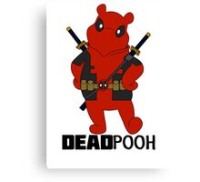DEADPOOH! Canvas Print