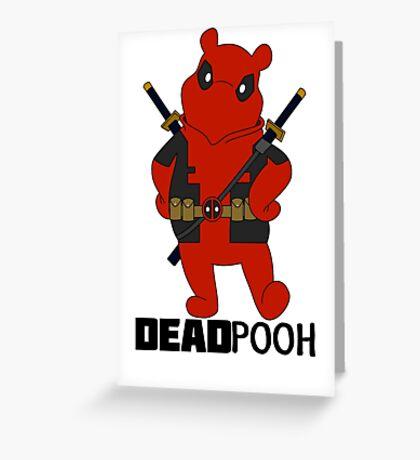 DEADPOOH! Greeting Card