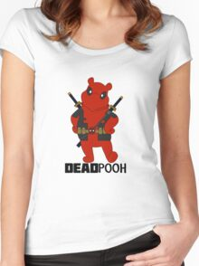 DEADPOOH! Women's Fitted Scoop T-Shirt