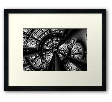 Central Vanishing Point No. 5 Framed Print