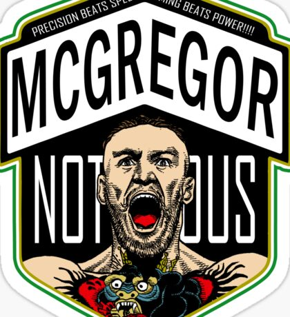Conor Mcgregor Sticker
