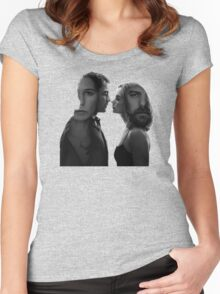 The Affair - tv series silhouettes Women's Fitted Scoop T-Shirt