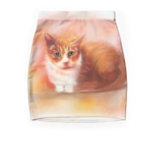 Crystal the Toothless Cat Mini Skirt