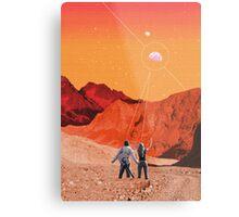 Mars Holidays Metal Print