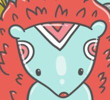 Abstract hedgehog Sticker