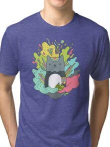 AbstraCat Tri-blend T-Shirt