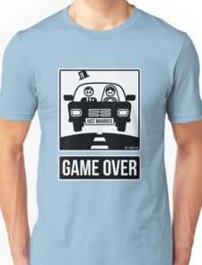 Just Married – Game Over (2C) Unisex T-Shirt