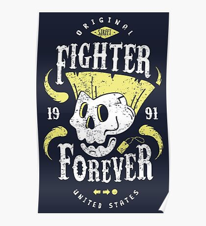 Fighter Forever Guile Poster